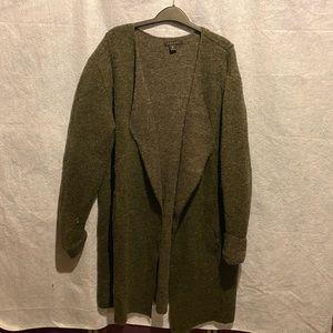 Tahari wool blend cardigan